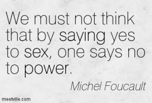 Michel-Foucault-saying-power-sex