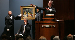 Sotheby auction